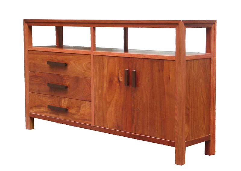 Solid rosewood multipurpose console
