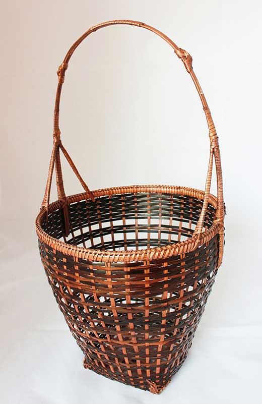 Handwoven Calathea grass all-purpose basket