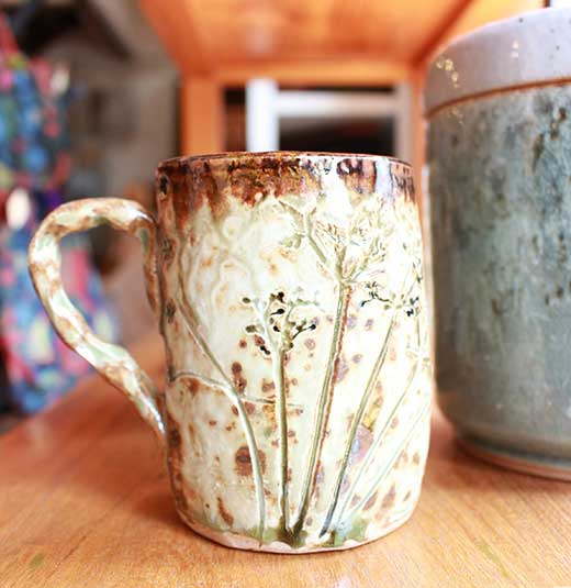 Handmade ceramic mug, Chiang Mai