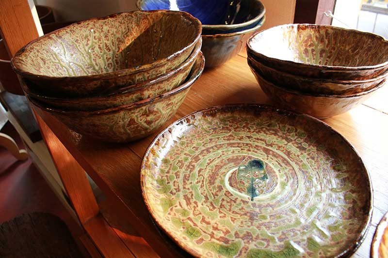 Japanese-inspired handmade ceramic tableware, Chiang Mai