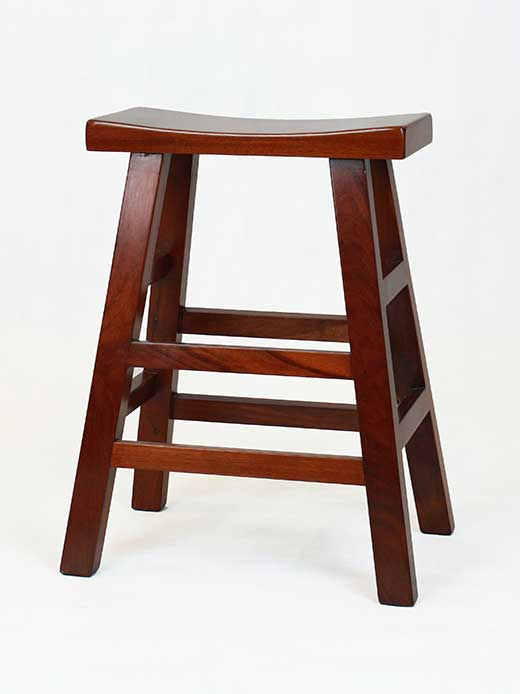 All-purpose traditional Chinese stool in rosewood